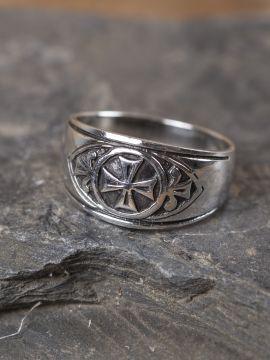 """Ring """"Templerkreuz"""" 62"""