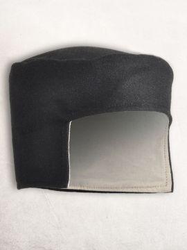 Kappe aus Wolle schwarz