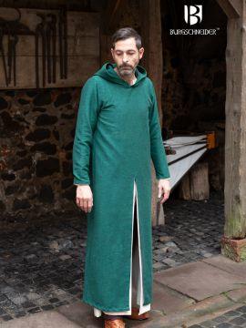 Lange Kapuzentunika Renaud grün