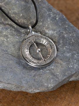 Äquatorialkugel - echt Silber