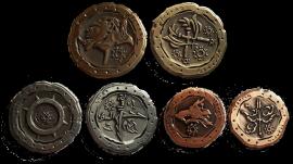 LARP-Münzen Ork