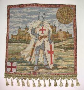 Wandteppich - Gobelin mit Tempelritter