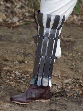 Wikinger Beinschiene, 2mm Stahl