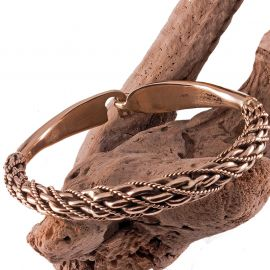 Wikingerarmreif aus Bronze