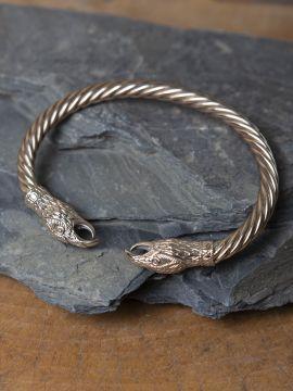 Raben Armspange bronze