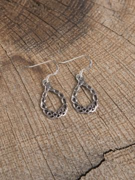 Ohrhänger mit keltischem Geflecht