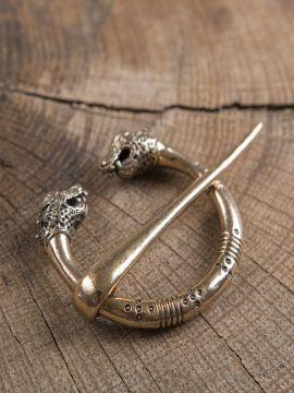 Oseberg-Ringfibel aus Bronze