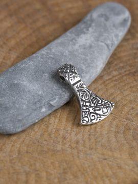 Axtamulett aus 925er Silber