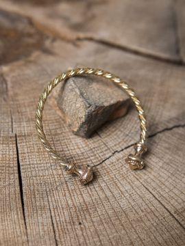 Keltischer Armreif aus Bronze für Männer