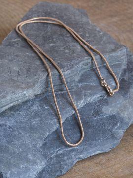 Schlangenkette aus Bronze 61 cm