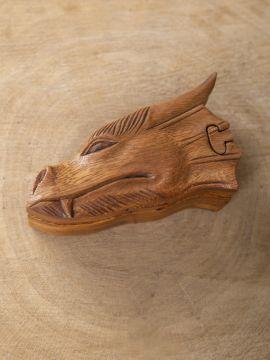Holzdose Draco