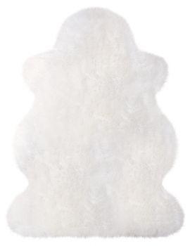 Lammfell vom Wollschaf - weiß