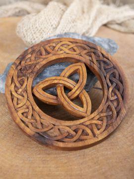 Holz-Wandschmuck Keltische Triade