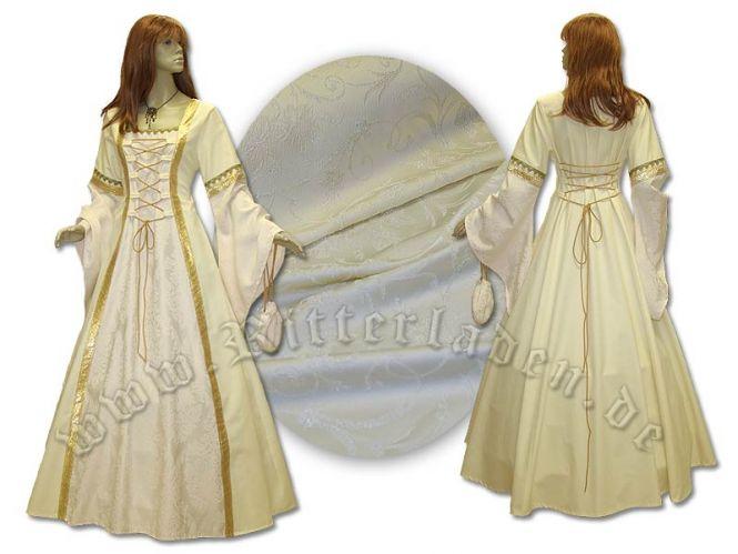 """Kleid """"Iris"""" aus Brokat und Baumwolle"""