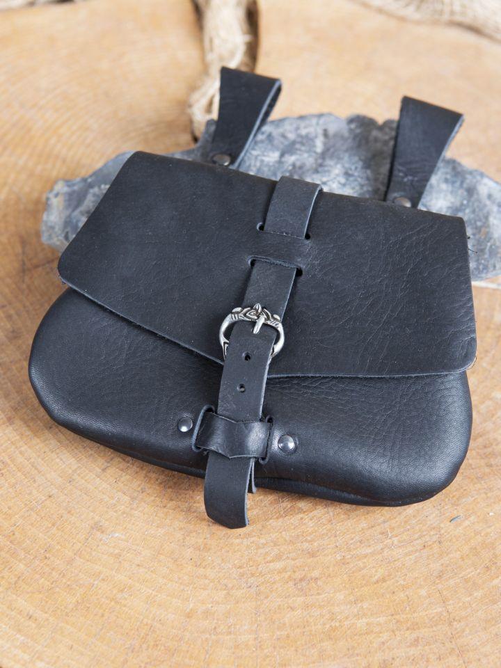 Frühmittelaltertasche schwarz