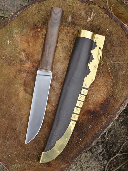 Wikinger-Saxmesser 28 cm