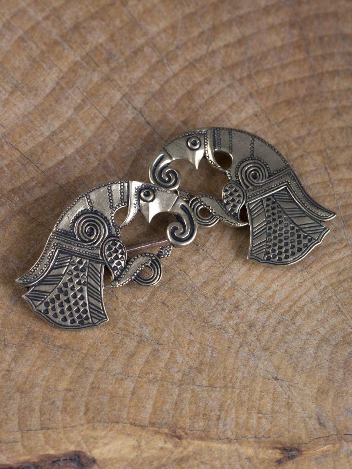 Raben-Fibeln Vendel bronze