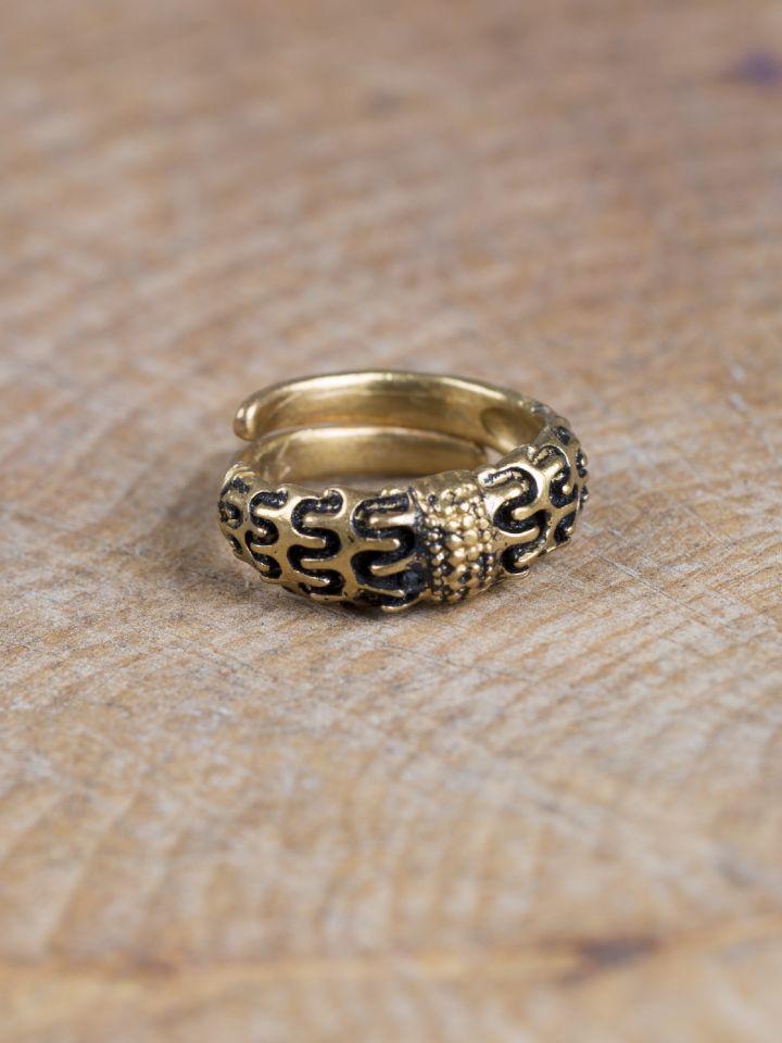 """Wikinger-Ring """"Falster"""" bronze"""