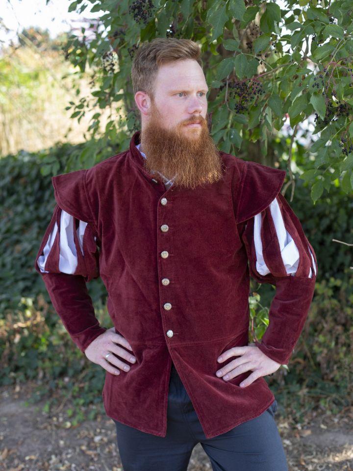 Jacke für den edlen Herren rot