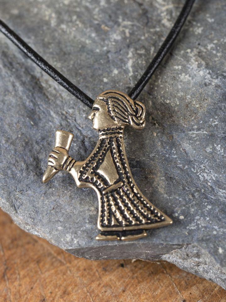 Walküre-Amulett von Klinta