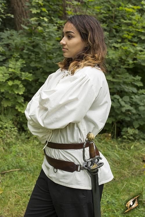 Schwertgürtel für LARP-Schwerter braun