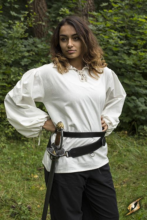 Schwertgürtel für LARP-Schwerter schwarz