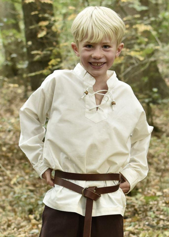 Kinder Mittelalterhemd natur