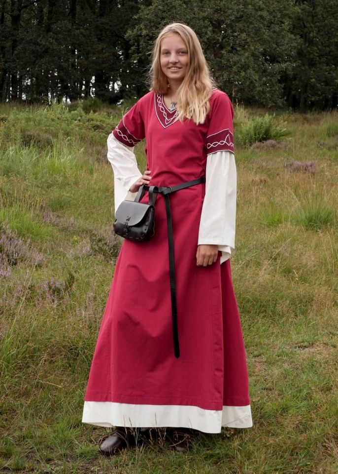 Kleid Agatha rot