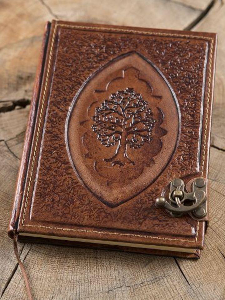 "Lederbuch ""Arbor"" groß"