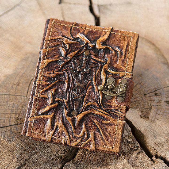 Lederbuch Excalibur klein