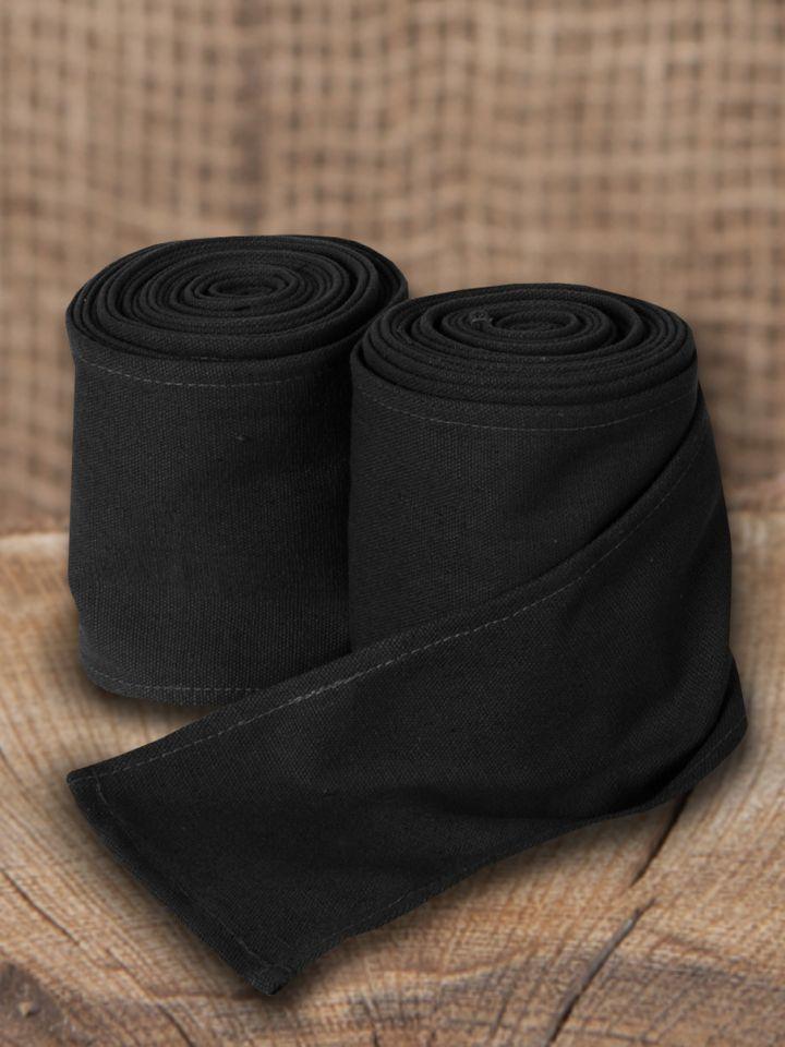 Wadenwickel in schwarz