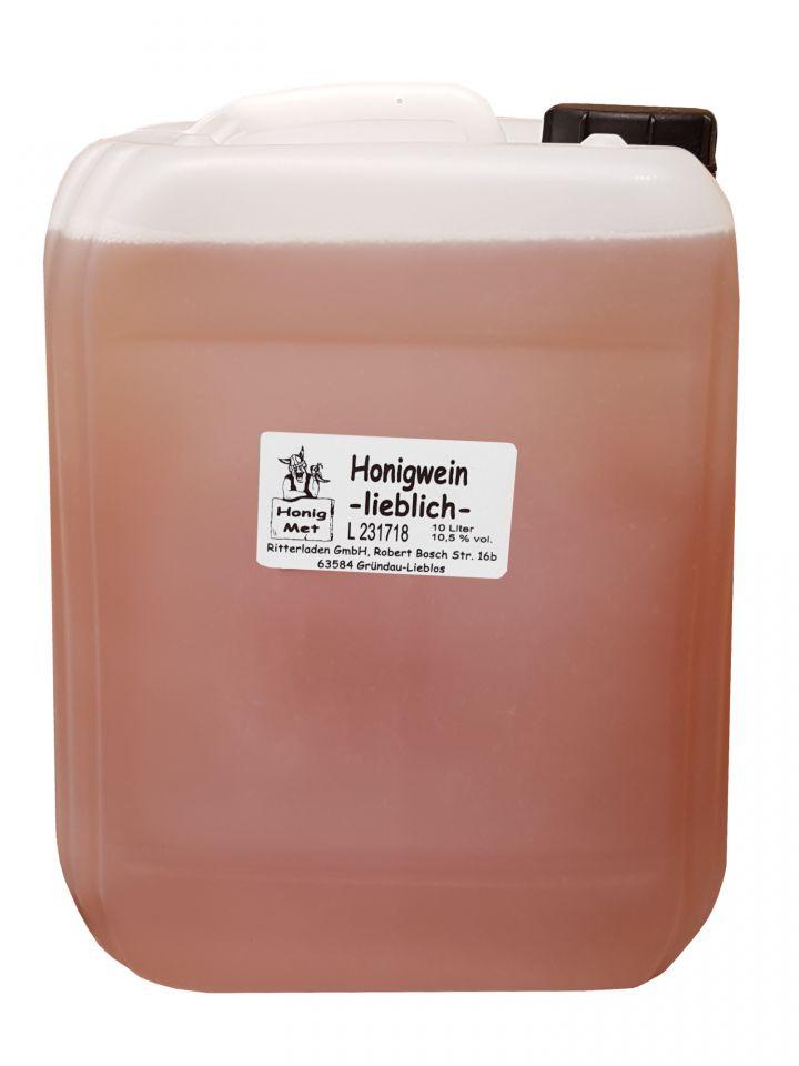 Met lieblich im 10 Liter-Kanister
