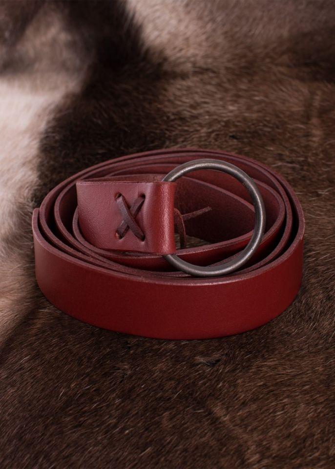 Roter Ringgürtel ca. 190 cm