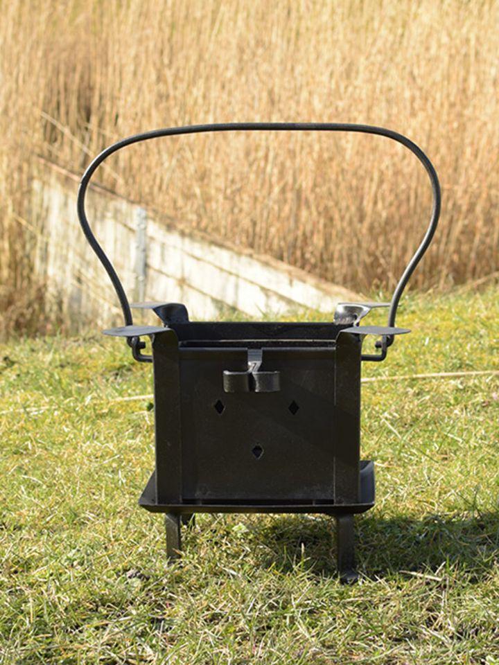 Tragbare Koch- und Feuerstelle