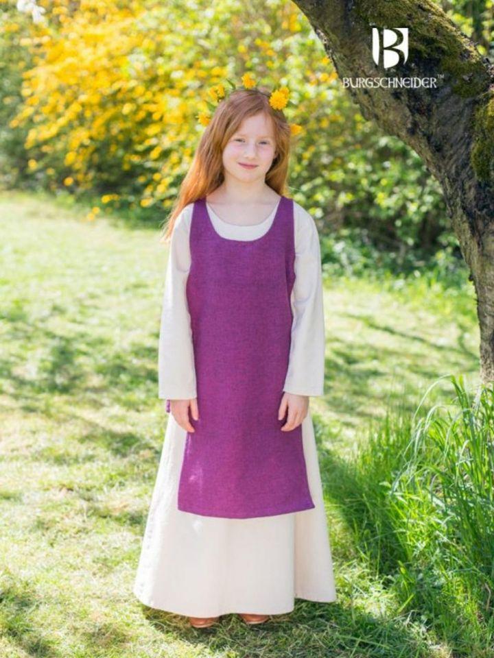 Kinderüberkleid Ylva flieder 104