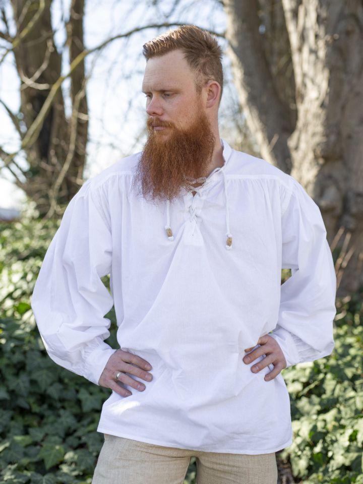 Mittelalterhemd weiß