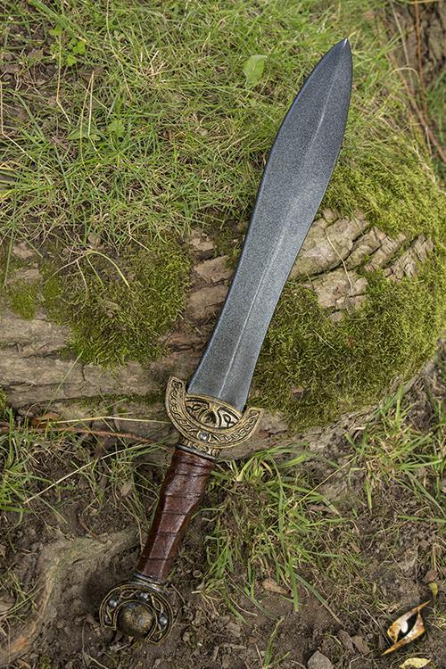 Keltisches Blattschwert für LARP - 60 cm