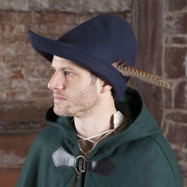 Hut - Robin Hood (Wolle), blau
