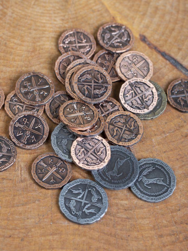 LARP-Münzen Kelten