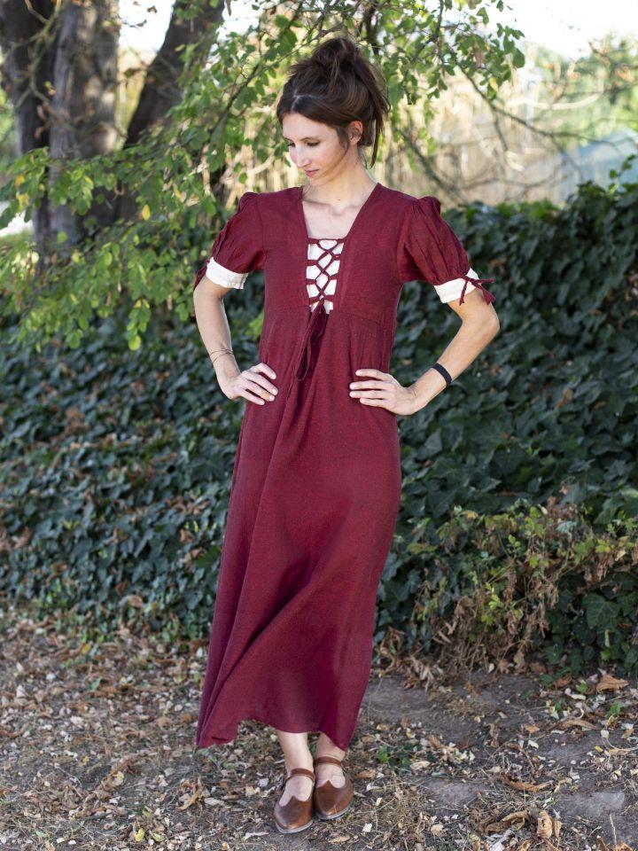 Sommerkleid rot S