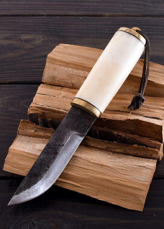 Gebrauchsmesser mit Knochengriff