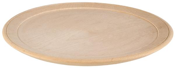 Massiver Holzteller - in 2 verschiedenen Größen