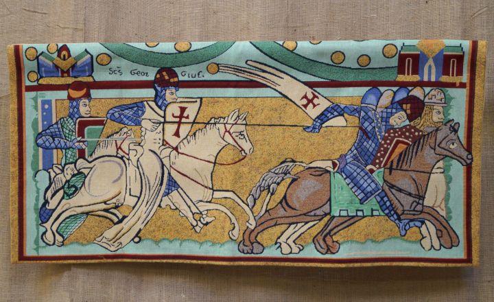 Les Croisades 117 cm x 57 cm
