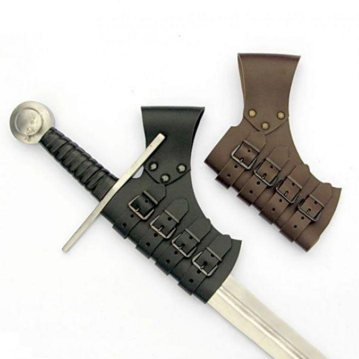 Schnall-Schwerthalter braun