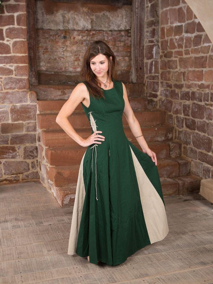 Ärmelloses Kleid grün M