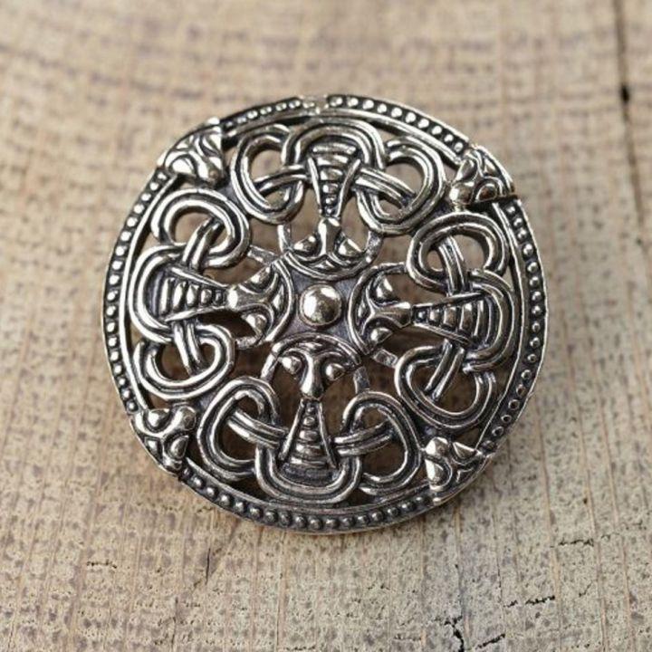Scheibenfibel - Silber oder Bronze bronze
