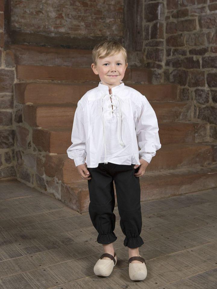 Ritterhose für Kinder XXS   schwarz