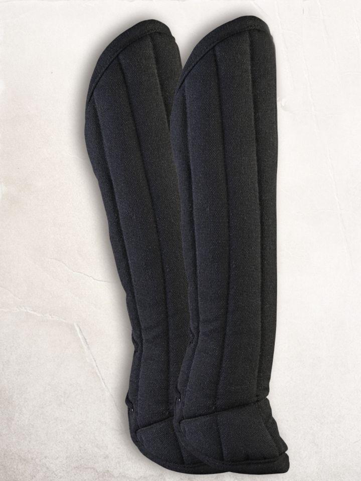 Beinpolster schwarz