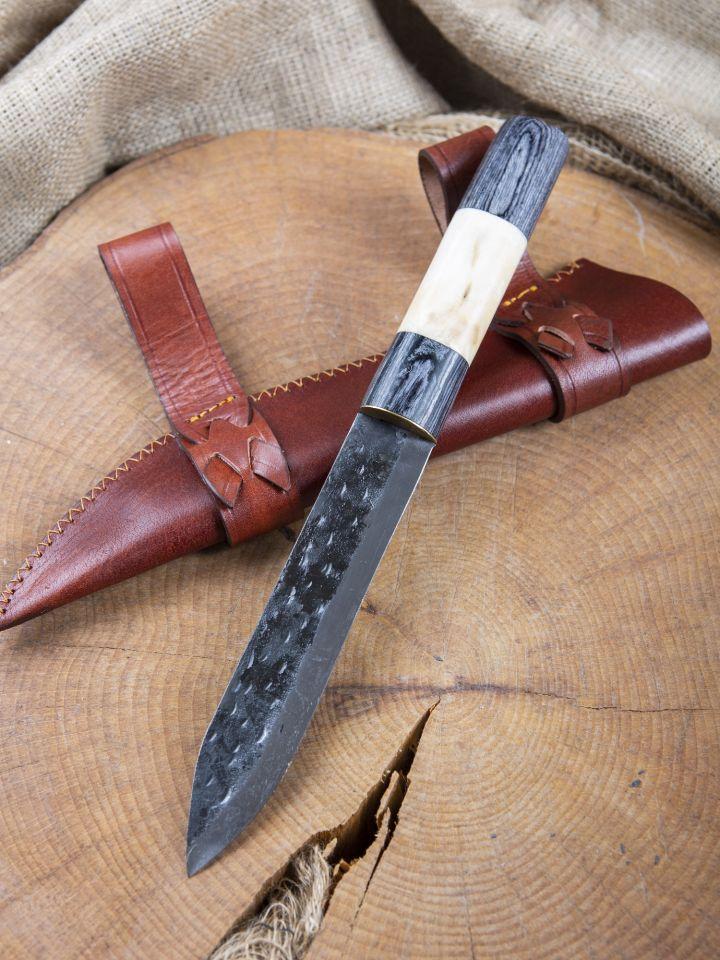 Sax mit Holz-Knochen-Griff