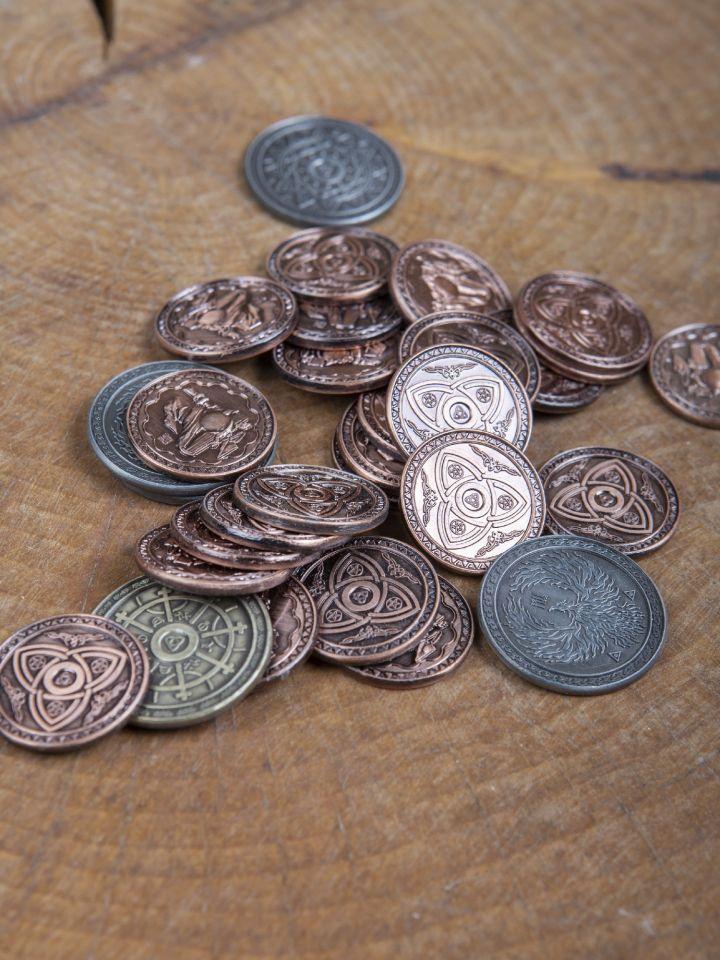 LARP-Münzen Magier